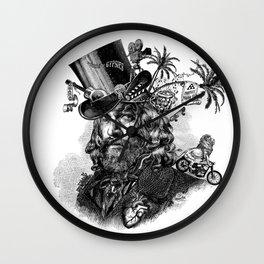 Jason Momoa steampunk Wall Clock