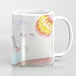 Flying Eyes by Mouth Moonlight  Coffee Mug