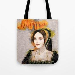 Anne Boleyn art Tote Bag