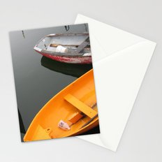 Rockport Rowboats 2 Stationery Cards