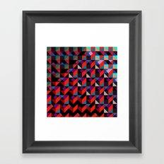 Unreleased Pattern #6 Framed Art Print
