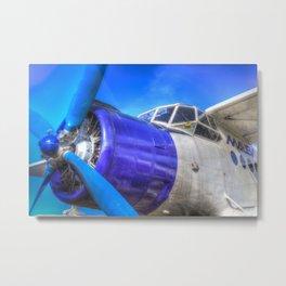 Malev Antonov An2 Metal Print