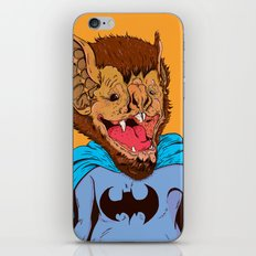 Bat-mania iPhone & iPod Skin