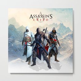 Assassin Metal Print