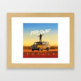 Khalid Free Framed Art Print