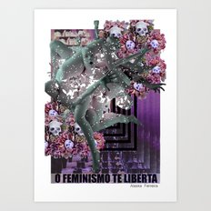 Feminism 2 Art Print