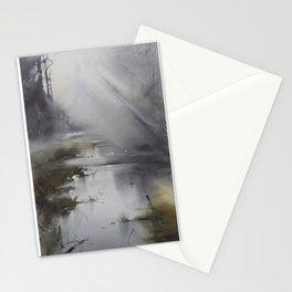 Paisaje brumoso Stationery Cards