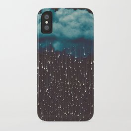 Let It Fall iPhone Case