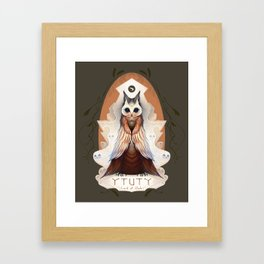 Ytuty Lord of Owls Framed Art Print