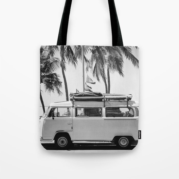 Retro Van Tote Bag
