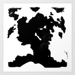 skins #1 Cow Art Print