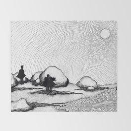Selkie Beach Throw Blanket