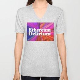 Ethereum Delirium Unisex V-Neck
