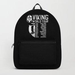 Viking World Tour - Raid Dates Backpack