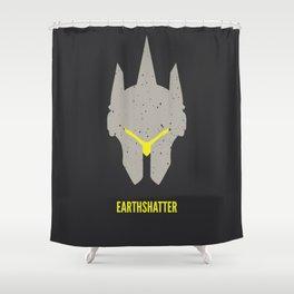 Earthshatter Shower Curtain