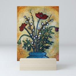 Tuscan Poppys Mini Art Print