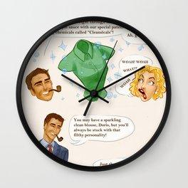 Doris Wall Clock