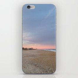 Pink horizon iPhone Skin