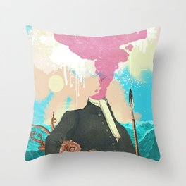 SEA CAPTAIN Throw Pillow