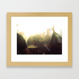 broadway calls Framed Art Print
