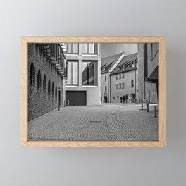 Fishermensquarter Ulm / Streetphotography Framed Mini Art Print