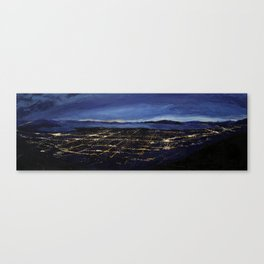 View of the Valley Canvas Print