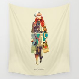 Until She Smiles Wall Tapestry