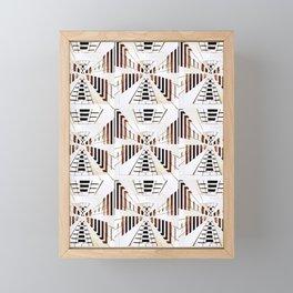 Warp Factor 3 Framed Mini Art Print