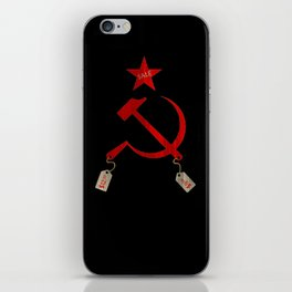 Communism vs. Capitalism iPhone Skin