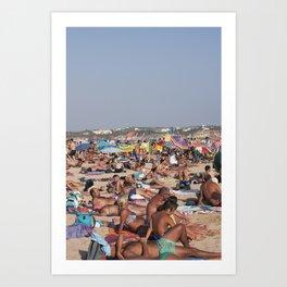 Beach Time 2! Art Print