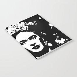 Black 'n white Frida Notebook