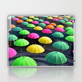 Umbrella Series - Looking Down Laptop & iPad Skin