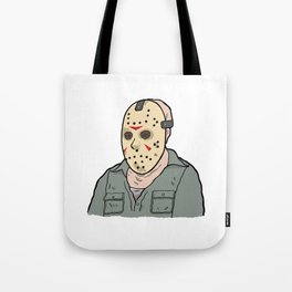 Jason Voorhees part 3 Tote Bag