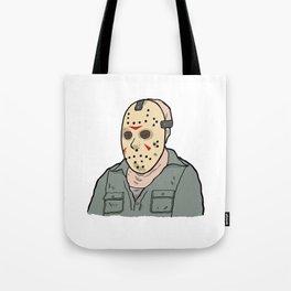 Jason Voorhees part 3 Tote Bag