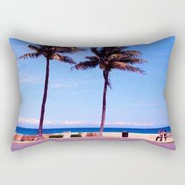 summertime blues Rectangular Pillow