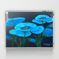 Blue poppies  Laptop & iPad Skin