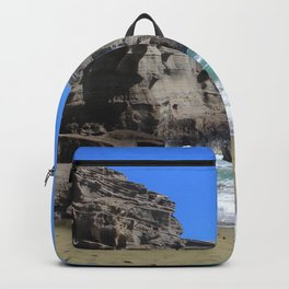 Olivine Sand and Turquoise Waters Backpack
