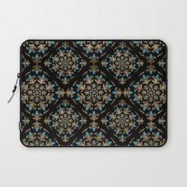 Turkish tulip - Ottoman tile pattern 14 Laptop Sleeve