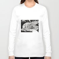 polar bear Long Sleeve T-shirts featuring Polar Bear by Meredith Mackworth-Praed