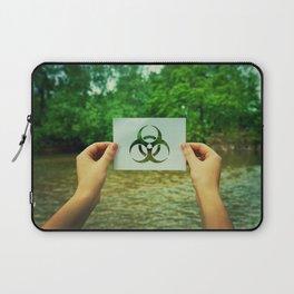 holding infection symbol Laptop Sleeve