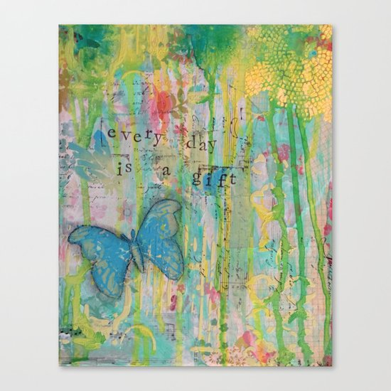 Everyday is a Gift Canvas Print
