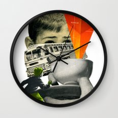 Start The Journey Wall Clock