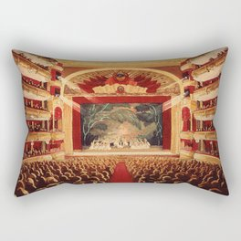 The Old Bolshoi Theater Rectangular Pillow