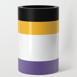 Women's Suffrage Flag Can Cooler