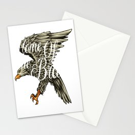 Home Of The Brave for people who like  fantasy legends and mythical creatures  Stationery Cards
