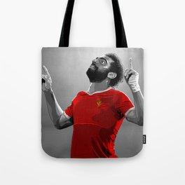 Mohamed Salah - Liverpool Tote Bag