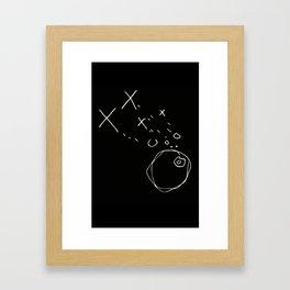 X--O Darkside Framed Art Print