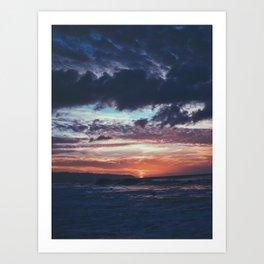 Last Sun Art Print