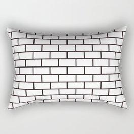 Brick Wall (W) Rectangular Pillow