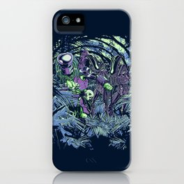 Welcome to the jungle (neon alternate) iPhone Case